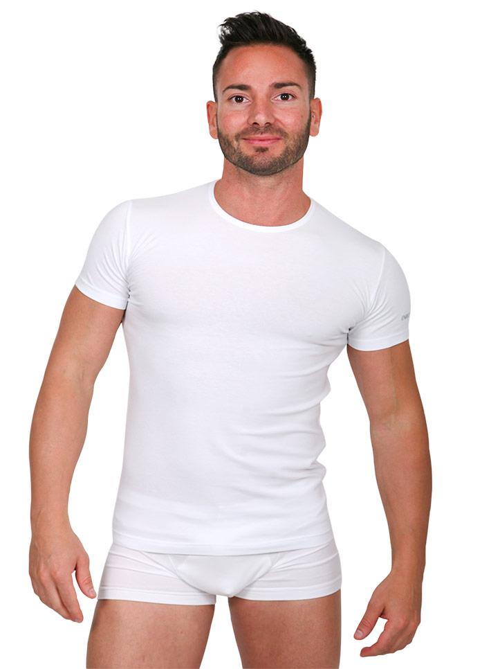 Maglietta mezza manica elasticizzata