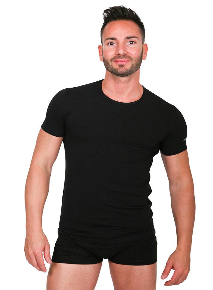 T-shirt uomo elastan cotone