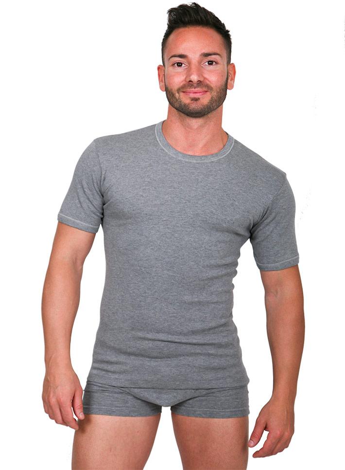Maglietta uomo mezza manica caldo cotone - art. 2150
