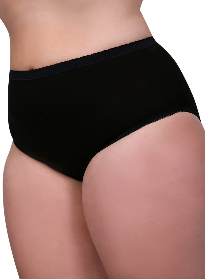 Slip calibrato donna cotone-Art.MC930 EXTRA NERO